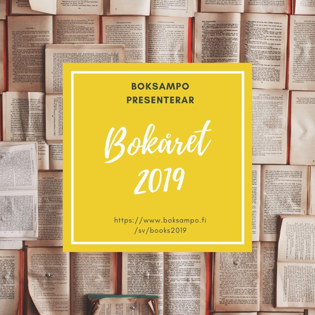 Boksampo presenterar bokåret 2019