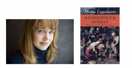 Mirkka Lappalainen ja Pohjoisen noidat -kirjan kansi