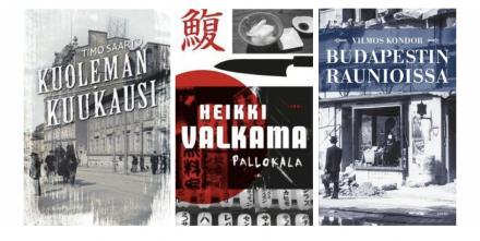 Suomen dekkariseuran palkitsemien teosten kansikuvat