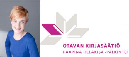 Ninka Reittu - kuva ja Otavan kirjasäätiö - logo