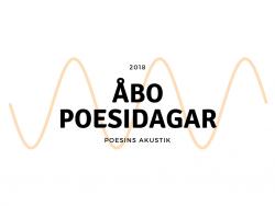 Åbo Poesidagar logo