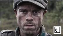 Näyttelijä Joonas Saartamo Tuntemattomassa sotilaassa