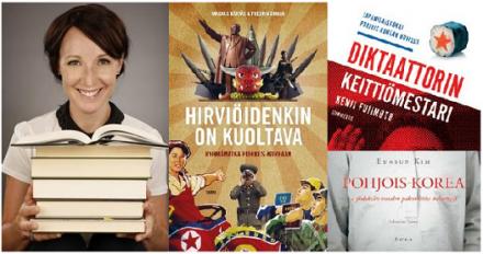 Marikan kirjajuttuja: kolme tietokirjaa Pohjois-Koreasta -jutun kuvituskuva