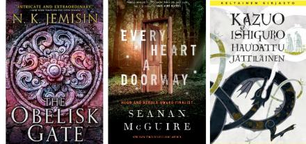 Hugo-palkinnot 2017 ja muita spefi-kirjallisuuden palkintoja jaettu