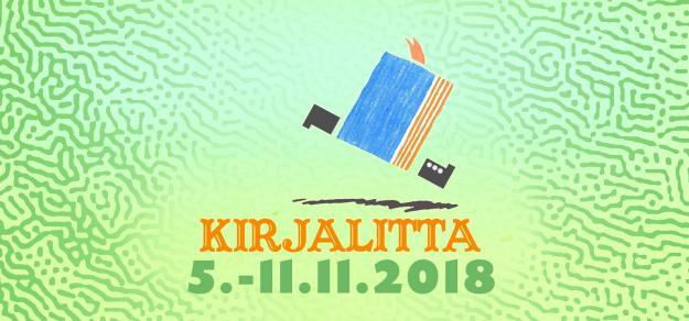 Kirjalitta - tapahtuman logo