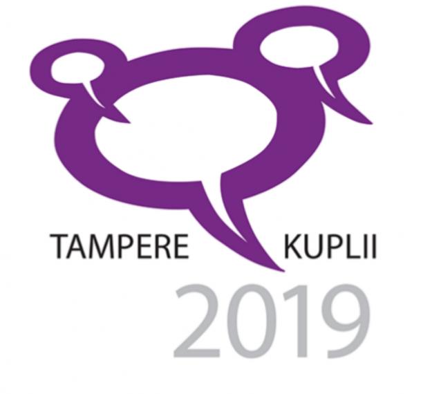 Tampere kuplii 2019 -logo