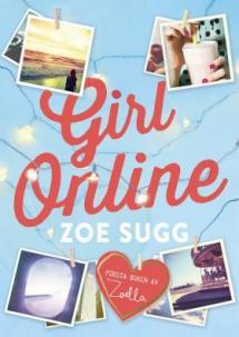 Girl online - kirjan kansikuva