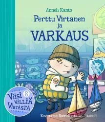 Perttu Virtanen ja varkaus - kirjan kansikuva