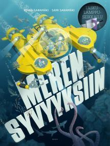 Meren syvyyksiin - kirjan kansikuva