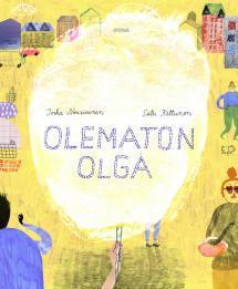 Olematon Olga - kirjan kansikuva