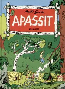 Apassit-sarjakuvan kansi