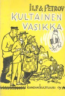 Kultainen Vasikka Kirja