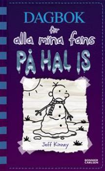 Dagbok för alla mina fans - På hal is; omslagsbild