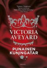 Punainen kuningatar - kirjan kansikuva